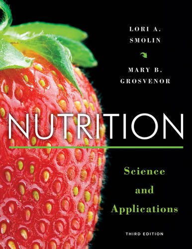 Nutrition Science and Applications 3rd 2013 9781118288269 Front Cover