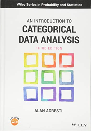 Introduction to Categorical Data Analysis  3rd 2019 9781119405269 Front Cover