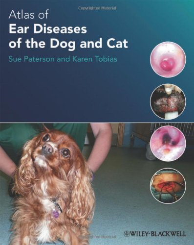 Atlas of Ear Diseases of the Dog and Cat   2012 9781405193269 Front Cover