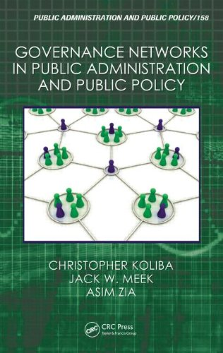 Governance Networks in Public Administration and Public Policy   2011 edition cover
