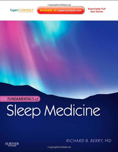 Fundamentals of Sleep Medicine Expert Consult - Online and Print  2012 9781437703269 Front Cover