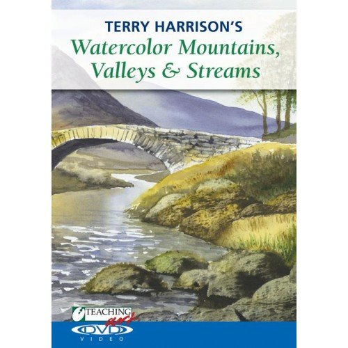 Terry Harrison's Watercolor Mountains, Valleys and Streams:   2011 edition cover