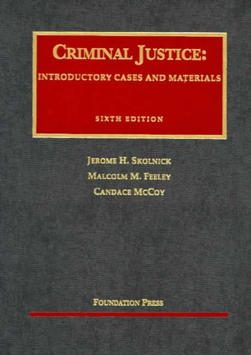 Criminal Justice  6th 2005 (Revised) edition cover