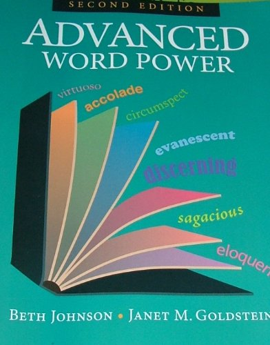 Advanced Word Power  N/A edition cover