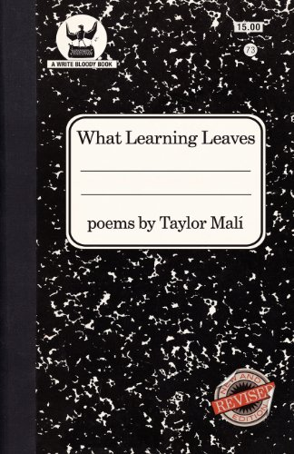 What Learning Leaves New Edition N/A edition cover