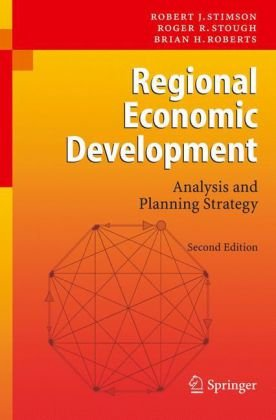 Regional Economic Development Analysis and Planning Strategy 2nd 2006 (Revised) 9783540348269 Front Cover