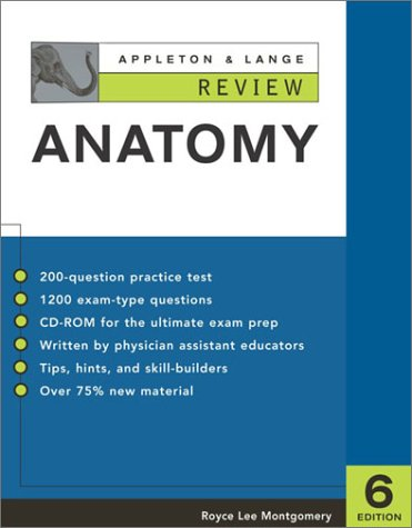 Appleton and Lange Review of Anatomy  6th 2003 (Revised) edition cover