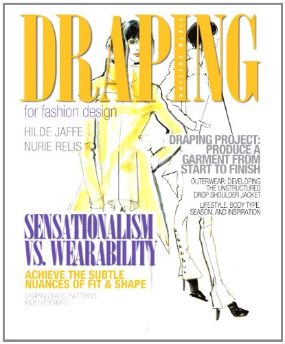Draping for Fashion Design  5th 2012 edition cover