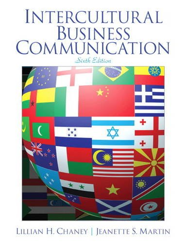 Intercultural Business Communication:   2012 edition cover
