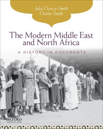 Modern Middle East and North Africa A History in Documents  2013 edition cover