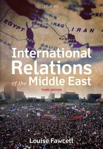 International Relations of the Middle East  3rd 2013 edition cover