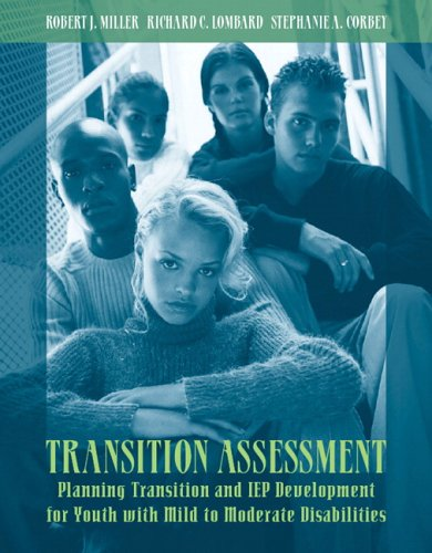 Transition Assessment Planning Transition and IEP Development for Youth with Mild to Moderate Disabilities  2007 edition cover