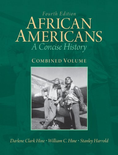 African Americans A Concise History 4th 2012 edition cover
