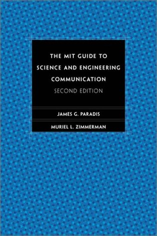 MIT Guide to Science and Engineering Communication  2nd 2002 edition cover