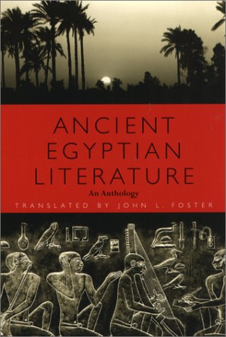 Ancient Egyptian Literature An Anthology  2001 9780292725270 Front Cover