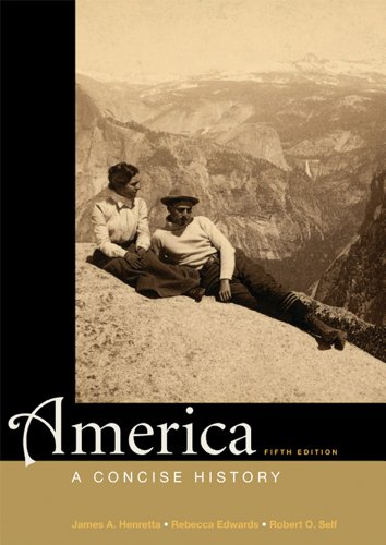 America A Concise History 5th 2012 edition cover