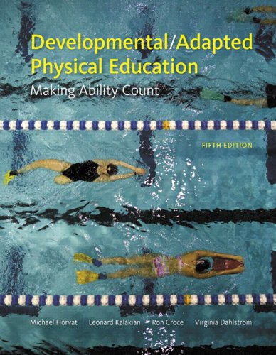 Developmental/Adapted Physical Education Making Ability Count 5th 2011 edition cover