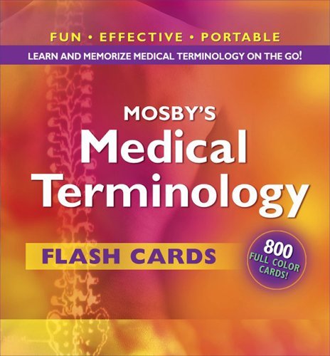 Mosby's Medical Terminology Flash Cards  N/A edition cover