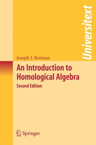 Introduction to Homological Algebra  2nd 2009 edition cover