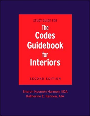 Codes Guidebook for Interiors 2nd 2002 edition cover