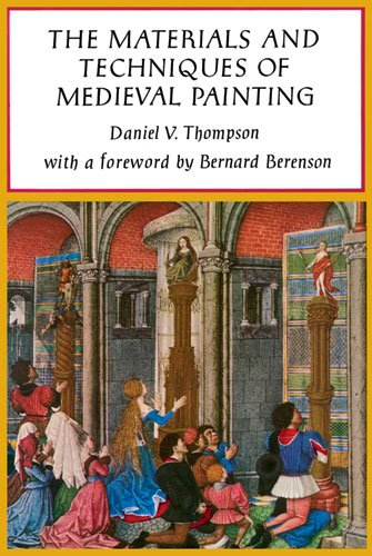 Materials of Medieval Painting   1956 edition cover