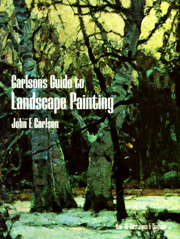 Carlson's Guide to Landscape Painting  Reprint  edition cover