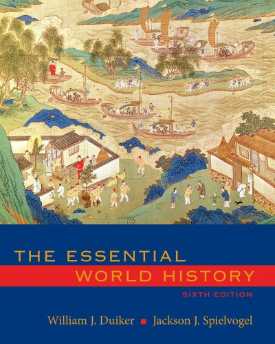 Essential World History  6th 2011 9780495902270 Front Cover