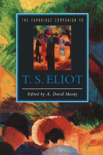 Cambridge Companion to T. S. Eliot   1994 edition cover
