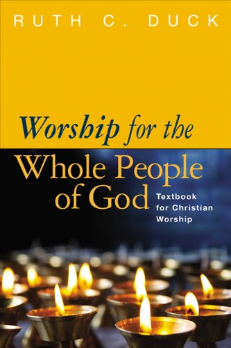 Worship for the Whole People of God Vital Worship for the 21st Century  2013 edition cover