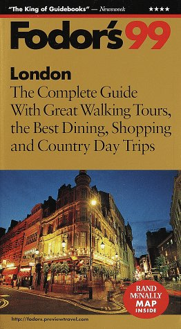 London '99 The Complete Guide with Great Walking Tours, the Best Dining, Shopping and Country Day Trips  1998 9780679001270 Front Cover