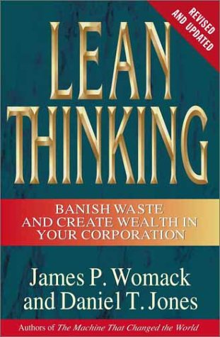 Lean Thinking Banish Waste and Create Wealth in Your Corporation  2003 (Revised) edition cover