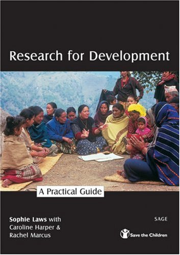 Research for Development A Practical Guide  2003 9780761973270 Front Cover