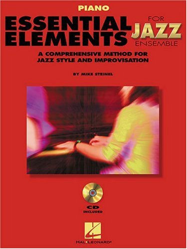 Essential Elements for Jazz Ensemble Piano 1st edition cover