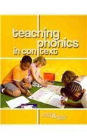Teaching Phonics in Context N/A edition cover