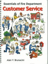 Essentials of Fire Department Customer Service  N/A 9780879391270 Front Cover
