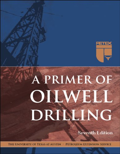 Primer of Oilwell Drilling  7th 2008 edition cover