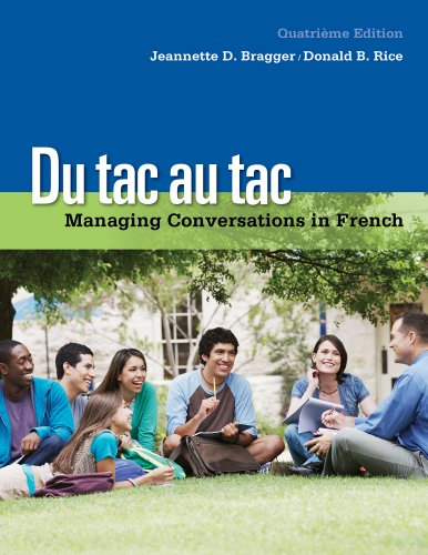 Du Tac Au Tac Managing Conversations in French (with Premium Web Site Printed Access Card) 4th 2014 edition cover