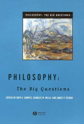 Philosophy The Big Questions  2004 9781405108270 Front Cover