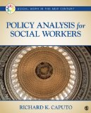 Policy Analysis for Social Workers   2014 9781452203270 Front Cover