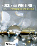 Focus on Writing Paragraphs and Essays 3rd 2014 edition cover