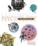 Exploring Psychology in Modules  9th 2014 edition cover