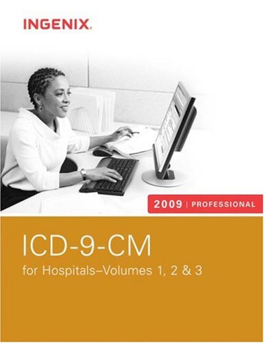 ICD-9-CM Professional for Hospitals, Volumes 1, 2 And 3-2009 (Softbound)   2009 edition cover
