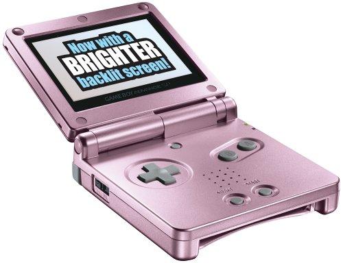 Game Boy Advance SP Pearl Pink Game Boy Advance artwork