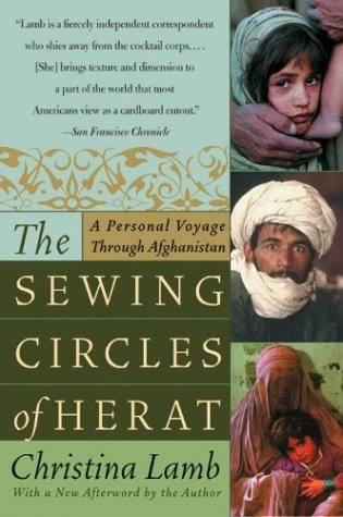Sewing Circles of Herat A Personal Voyage Through Afghanistan N/A 9780060505271 Front Cover