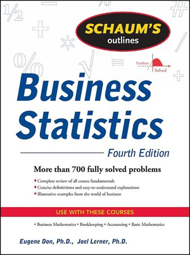 Business Statistics  4th 2010 edition cover