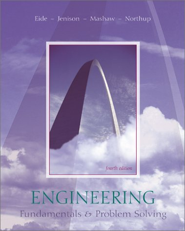 Engineering Fundamentals and Problem Solving  4th 2002 (Revised) edition cover