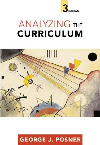 Analyzing the Curriculum  3rd 2004 (Revised) edition cover