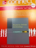 BUSINESS DRIVEN TECHNOLOGY-ACC N/A edition cover