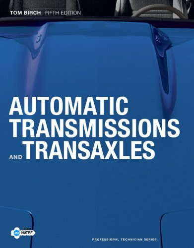 Automatic Transmissions and Transaxles  5th 2012 (Revised) edition cover