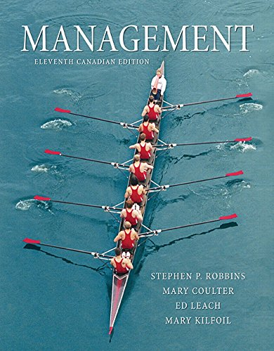 Management, Eleventh Canadian Edition  11th 9780133357271 Front Cover